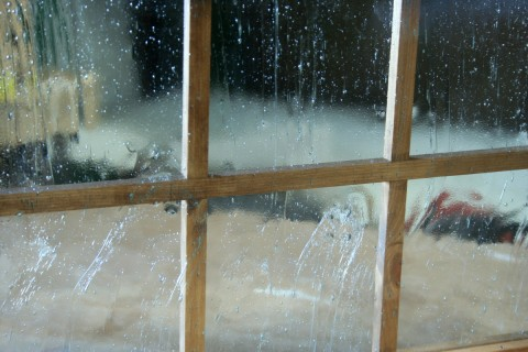 FIIX窓詳細・泡入りガラス