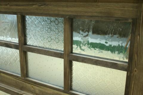 組み合わせガラス(引き窓拡大)