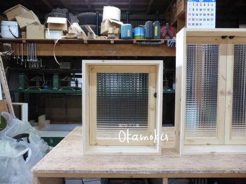 片開き窓-マグネットキャッチのみの簡易仕様