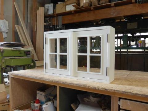 2枚観音開き窓(閉時・外側)