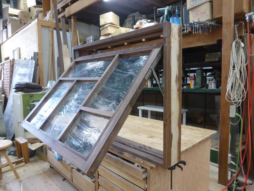 室内窓(滑り出し・木製・オーダー)