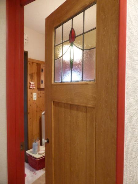 室内ドア交換(洗面脱衣室)