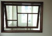 滑り出し室内窓