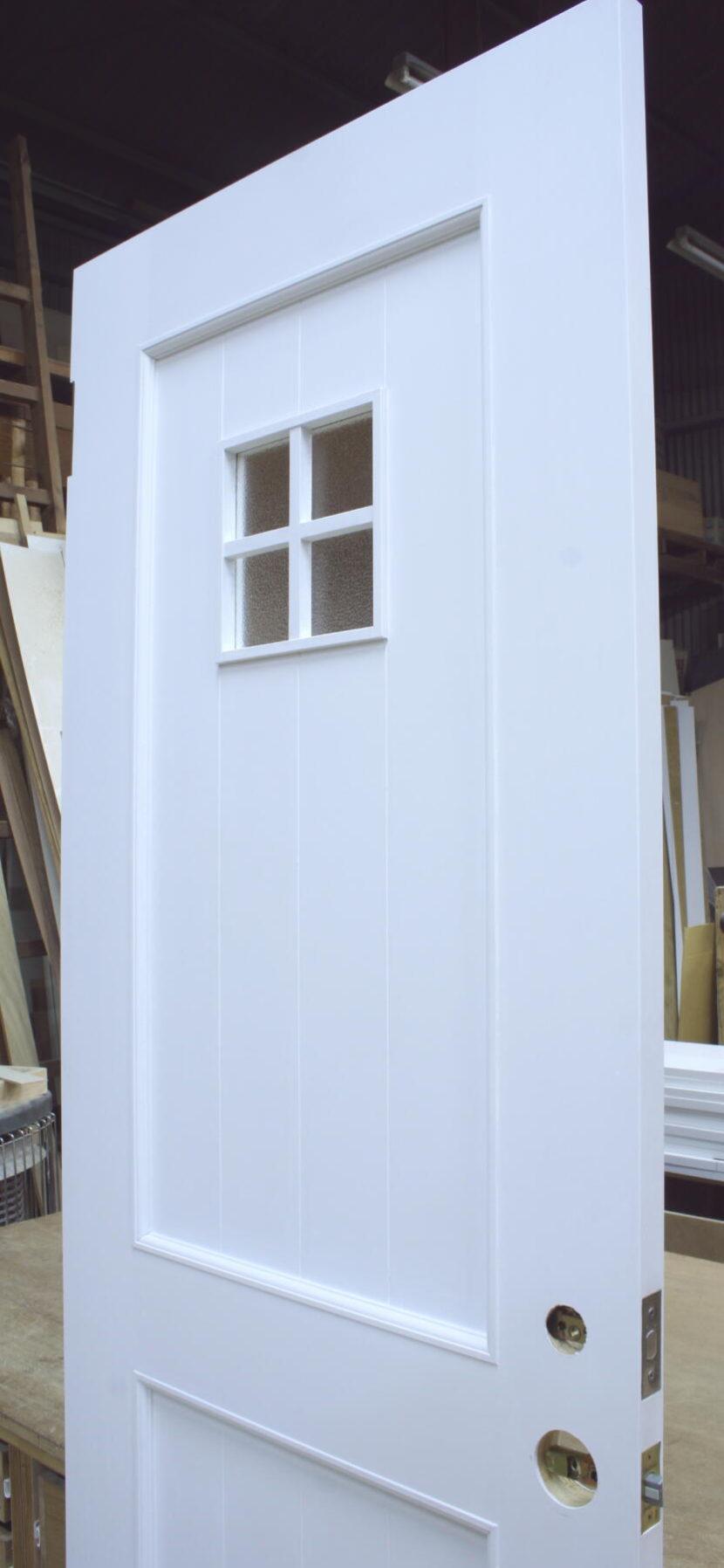 小窓付きトイレドア