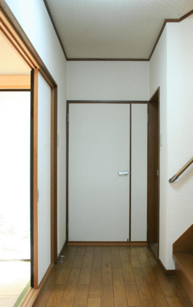 室内ドア交換前