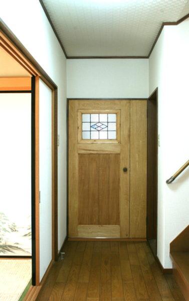 室内ドア交換後