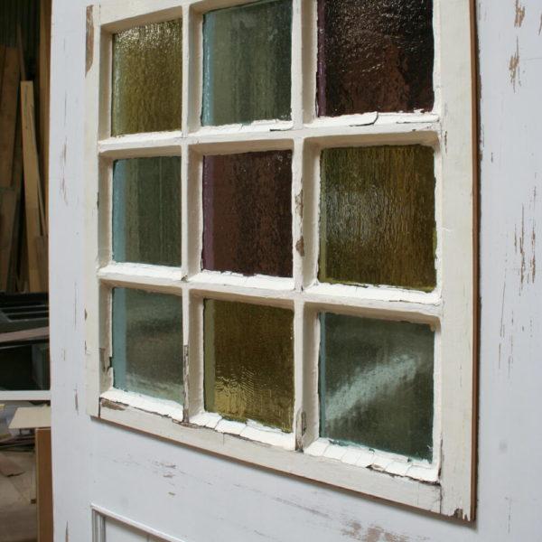 木製格子窓