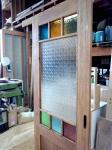 カラフルガラス&フローラガラスの引き戸(M邸)