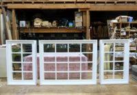 室内窓3台納品