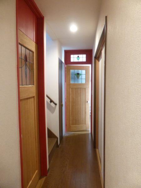 室内ドアの交換リホーム
