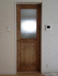 フローラガラスの室内ドア